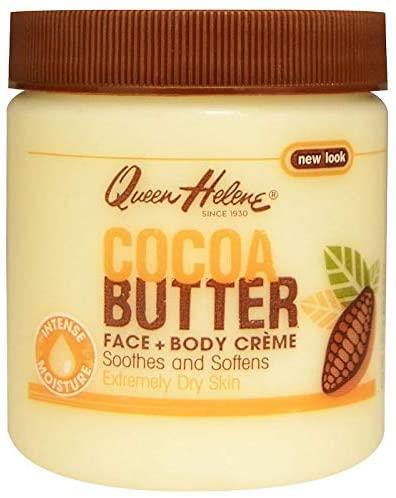 زبدة الكاكاو الوجه + كريم الجسم من كوين هيلين (136 غرام)