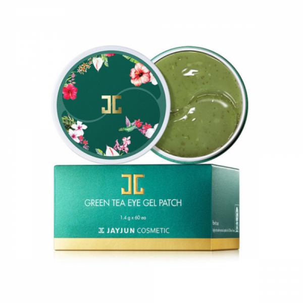 لصقات جل للعين بالشاي الاخضر من جيجون - 1.4غ×60 لاصقة