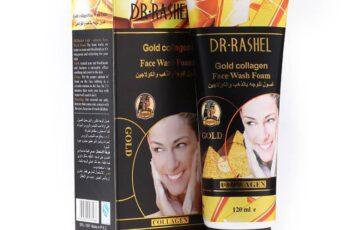 غسول الوجه بالذهب والكولاجين من د. راشيل 120 مل