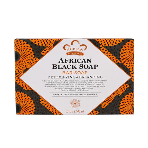 صابون أسود أفريقي من نوبيان هيرتيج – 142غ