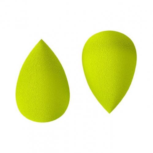 اسفنجة بف فيشال باودر من كي إس دي - اخضر - قطعتين