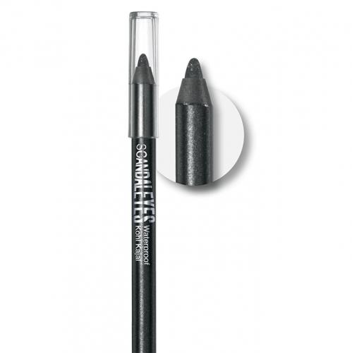 قلم-تحديد-العين-سكاندلايز-مقاوم-للماء-ريميل-لندن-اسود-المكياج