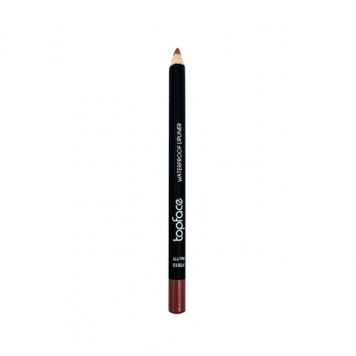 قلم محدد شفاه مقاوم للماء من توب فيس - 111