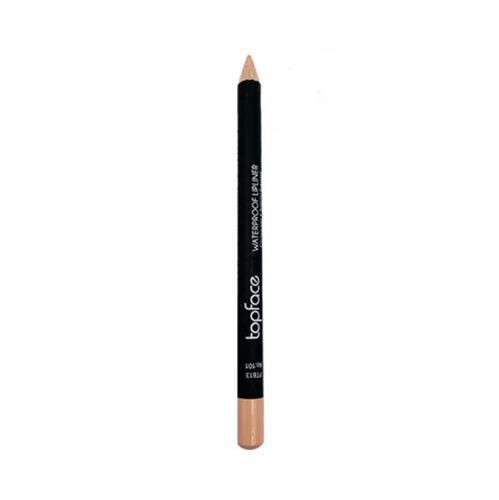 قلم محدد الشفاه مقاوم للماء من توب فيس - 101