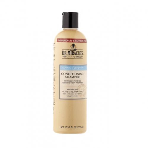 شامبو تنظيف وتنعيم الشعر من د. ميراكلز - 355مل